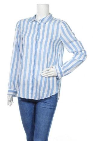 Γυναικείο πουκάμισο H&M Divided, Μέγεθος S, Χρώμα Μπλέ, Βαμβάκι, Τιμή 12,06€