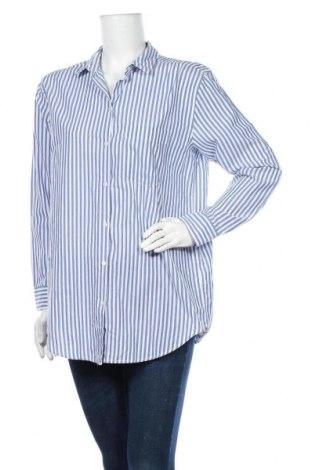 Дамска риза H&M L.O.G.G., Размер M, Цвят Син, Цена 6,98лв.