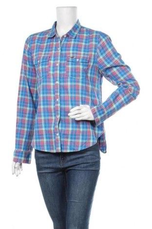 Дамска риза Hollister, Размер M, Цвят Многоцветен, Памук, Цена 17,96лв.