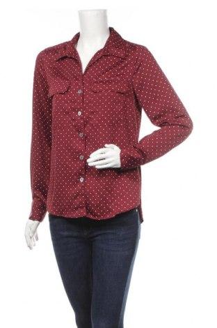 Γυναικείο πουκάμισο Holly & Whyte By Lindex, Μέγεθος M, Χρώμα Κόκκινο, Πολυεστέρας, Τιμή 4,09€