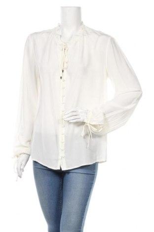 Дамска риза Hugo Boss, Размер S, Цвят Екрю, Цена 45,75лв.