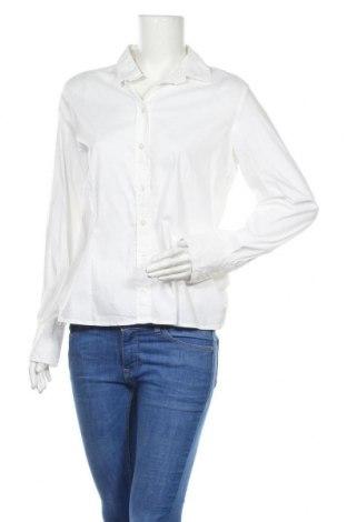 Γυναικείο πουκάμισο Jones, Μέγεθος L, Χρώμα Λευκό, 74% βαμβάκι, 23% πολυαμίδη, 3% ελαστάνη, Τιμή 13,85€