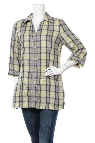 Γυναικείο πουκάμισο Maddison, Μέγεθος M, Χρώμα Πολύχρωμο, Λινό, Τιμή 9,38€