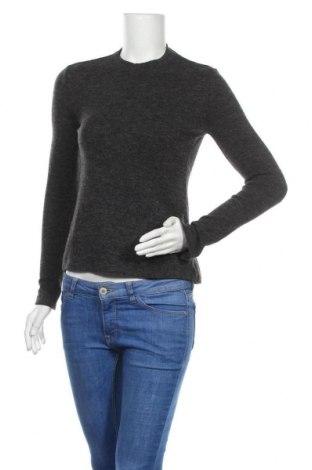 Дамска блуза Mango, Размер S, Цвят Сив, Цена 18,00лв.