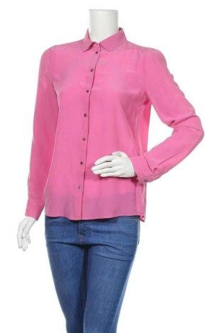 Γυναικείο πουκάμισο Marc Cain, Μέγεθος S, Χρώμα Ρόζ , Μετάξι, Τιμή 52,82€