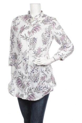 Дамска риза Marco Pecci, Размер M, Цвят Многоцветен, 100% памук, Цена 19,95лв.