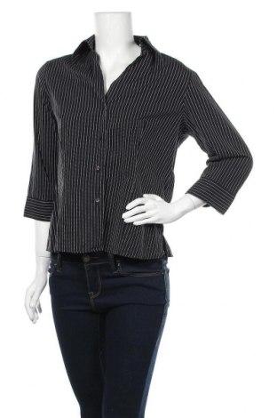 Дамска риза Marco Pecci, Размер M, Цвят Черен, Памук, Цена 18,90лв.