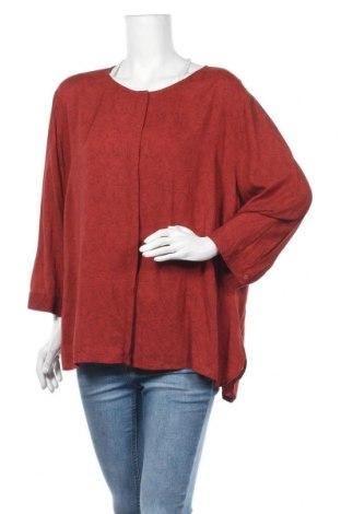 Дамска риза Mark Adam, Размер XXL, Цвят Червен, Вискоза, Цена 13,97лв.