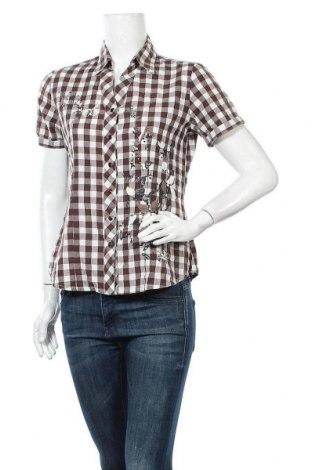 Γυναικείο πουκάμισο Michele Boyard, Μέγεθος M, Χρώμα Καφέ, Βαμβάκι, Τιμή 6,82€