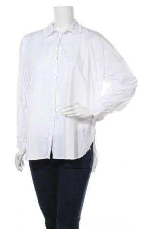 Дамска риза Minimum, Размер S, Цвят Бял, Памук, Цена 74,46лв.