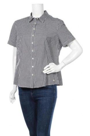 Γυναικείο πουκάμισο One Touch, Μέγεθος XL, Χρώμα Μαύρο, 97% βαμβάκι, 3% ελαστάνη, Τιμή 7,18€