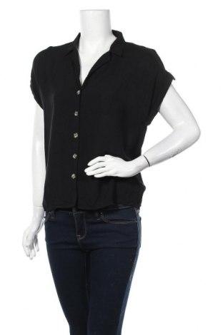 Дамска риза Pimkie, Размер M, Цвят Черен, Вискоза, Цена 17,85лв.