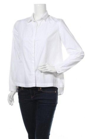 Дамска риза S.Oliver, Размер L, Цвят Бял, Памук, Цена 17,85лв.