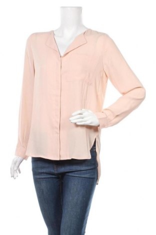 Дамска риза Selected Femme, Размер S, Цвят Бежов, Полиестер, Цена 16,07лв.