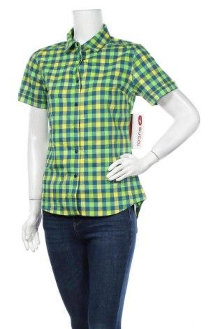 Γυναικείο πουκάμισο Sugoi, Μέγεθος M, Χρώμα Πολύχρωμο, 56% πολυεστέρας, 41% βαμβάκι, 3% ελαστάνη, Τιμή 5,63€