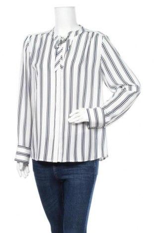 Γυναικείο πουκάμισο Un Deux Trois, Μέγεθος XL, Χρώμα Λευκό, Πολυεστέρας, Τιμή 6,82€