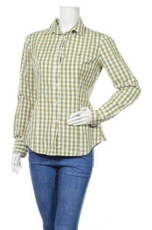 Γυναικείο πουκάμισο United Colors Of Benetton, Μέγεθος M, Χρώμα Πράσινο, 100% βαμβάκι, Τιμή 11,14€