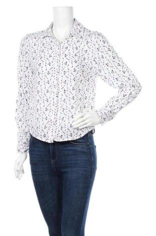 Дамска риза Up 2 Fashion, Размер L, Цвят Бял, Полиестер, Цена 17,85лв.