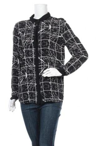 Дамска риза Y.A.S, Размер L, Цвят Черен, Вискоза, Цена 21,95лв.