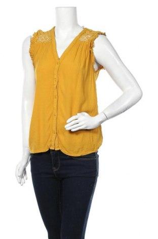Γυναικείο πουκάμισο Yessica, Μέγεθος M, Χρώμα Κίτρινο, Βισκόζη, Τιμή 11,04€