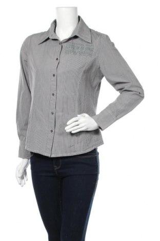 Дамска риза Zabaione, Размер M, Цвят Сив, 70% памук, 30% полиестер, Цена 3,72лв.