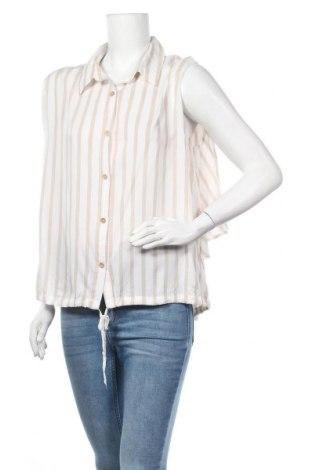Дамска риза Zabaione, Размер XL, Цвят Бял, Вискоза, Цена 4,46лв.