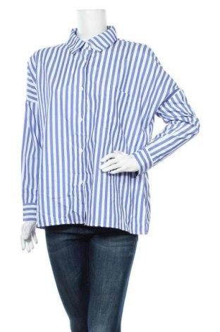 Дамска риза Zanzea, Размер XXL, Цвят Бял, Полиестер, Цена 24,10лв.