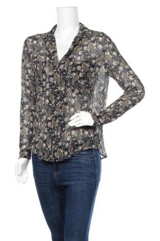 Дамска риза Zapa, Размер L, Цвят Многоцветен, 80% вискоза, 20% коприна, Цена 47,25лв.
