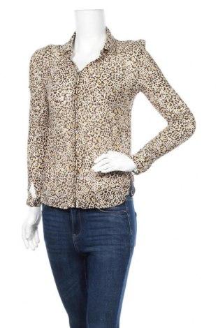 Дамска риза Zapa, Размер L, Цвят Многоцветен, 80% вискоза, 20% коприна, Цена 33,92лв.