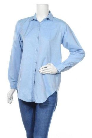 Γυναικείο πουκάμισο Zara, Μέγεθος M, Χρώμα Μπλέ, Τιμή 14,84€