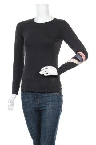 Γυναικεία αθλητική μπλούζα H&M Sport, Μέγεθος XS, Χρώμα Μαύρο, 87% πολυεστέρας, 13% ελαστάνη, Τιμή 10,49€