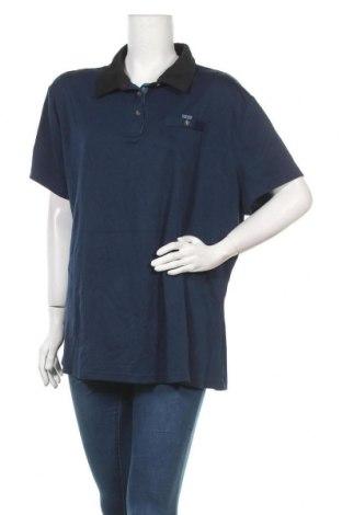 Дамска тениска, Размер XXL, Цвят Син, 69% полиестер, 31% модал, Цена 9,56лв.