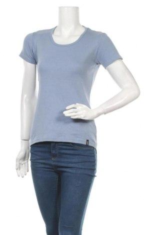 Дамска тениска Tara M, Размер S, Цвят Син, Памук, Цена 13,39лв.