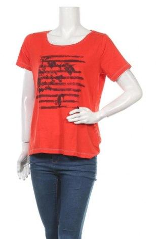 Дамска тениска, Размер L, Цвят Червен, Цена 6,62лв.