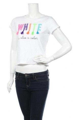 Дамска тениска, Размер S, Цвят Бял, Цена 13,97лв.