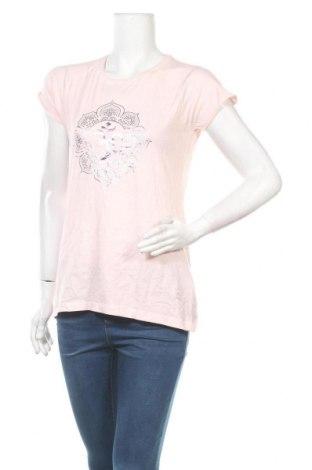 Дамска тениска, Размер M, Цвят Розов, Памук, Цена 18,95лв.
