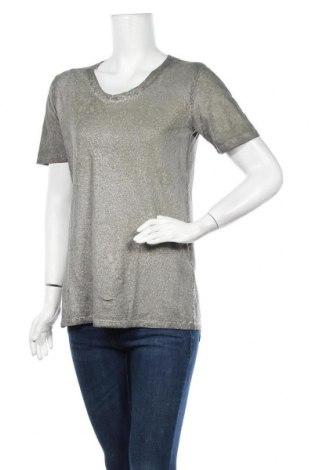 Дамска тениска, Размер L, Цвят Зелен, Памук, Цена 6,62лв.