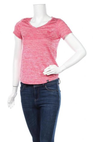 Дамска тениска, Размер S, Цвят Розов, Полиестер, Цена 4,73лв.