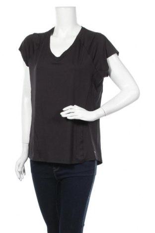 Дамска тениска Active By Tchibo, Размер L, Цвят Черен, 86% полиестер, 14% еластан, Цена 11,76лв.
