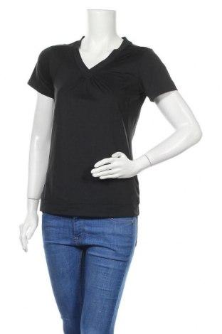 Дамска тениска Active By Tchibo, Размер S, Цвят Черен, 86% полиестер, 14% еластан, Цена 13,23лв.
