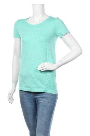 Дамска тениска Active By Tchibo, Размер S, Цвят Зелен, 61% полиестер, 39% полиамид, Цена 12,60лв.