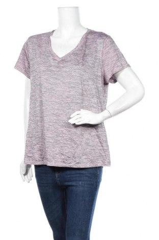 Дамска тениска Active&Co, Размер XL, Цвят Лилав, Полиестер, Цена 11,34лв.