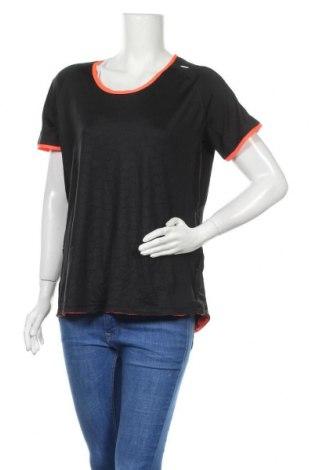 Дамска тениска Active&Co, Размер XXL, Цвят Черен, Полиестер, еластан, Цена 4,73лв.