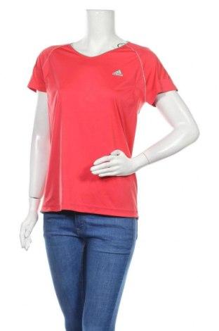 Дамска тениска Adidas, Размер XL, Цвят Розов, Полиестер, Цена 23,10лв.