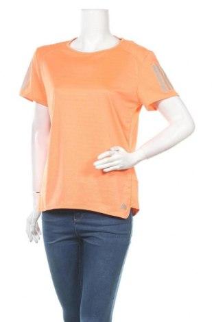 Дамска тениска Adidas, Размер L, Цвят Оранжев, Полиестер, Цена 17,06лв.