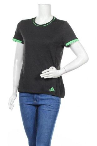 Дамска тениска Adidas, Размер M, Цвят Сив, Полиестер, Цена 21,00лв.