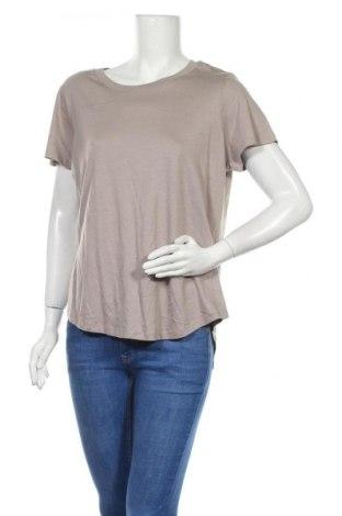 Дамска тениска Anko, Размер XL, Цвят Бежов, 50% памук, 50% модал, Цена 15,96лв.