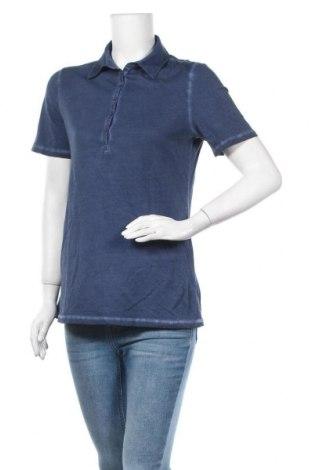 Дамска тениска Apanage, Размер M, Цвят Син, Памук, Цена 9,82лв.