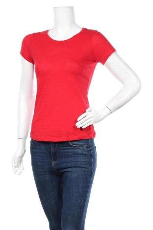 Дамска тениска B&C Collection, Размер XS, Цвят Червен, Памук, Цена 12,60лв.