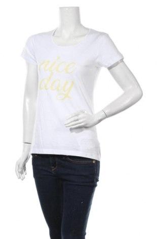 Дамска тениска Blue Motion, Размер L, Цвят Бял, Памук, Цена 15,17лв.